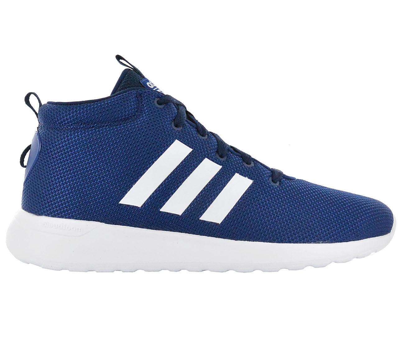 Adidas Zapatillas Deportivas Hombres Cloudfoam Lite Racer Mid Cf Zapatos Azul de