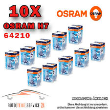 10x OSRAM HALOGEN-Lampada h7 SET ORIGINALE LINE 55w/12v lampadina standard 64210