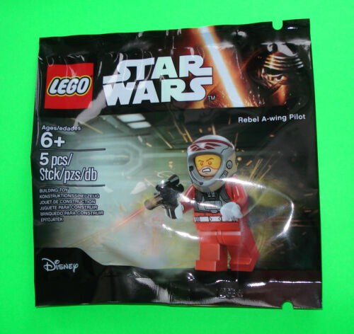 LEGO STAR WARS FIGUR ### REBEL A-WING PILOT POLYBAG 5004408 NEU NEW ### =TOP
