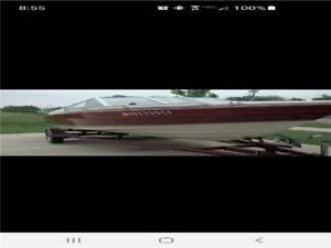 1990 Maxum Boat 20'7