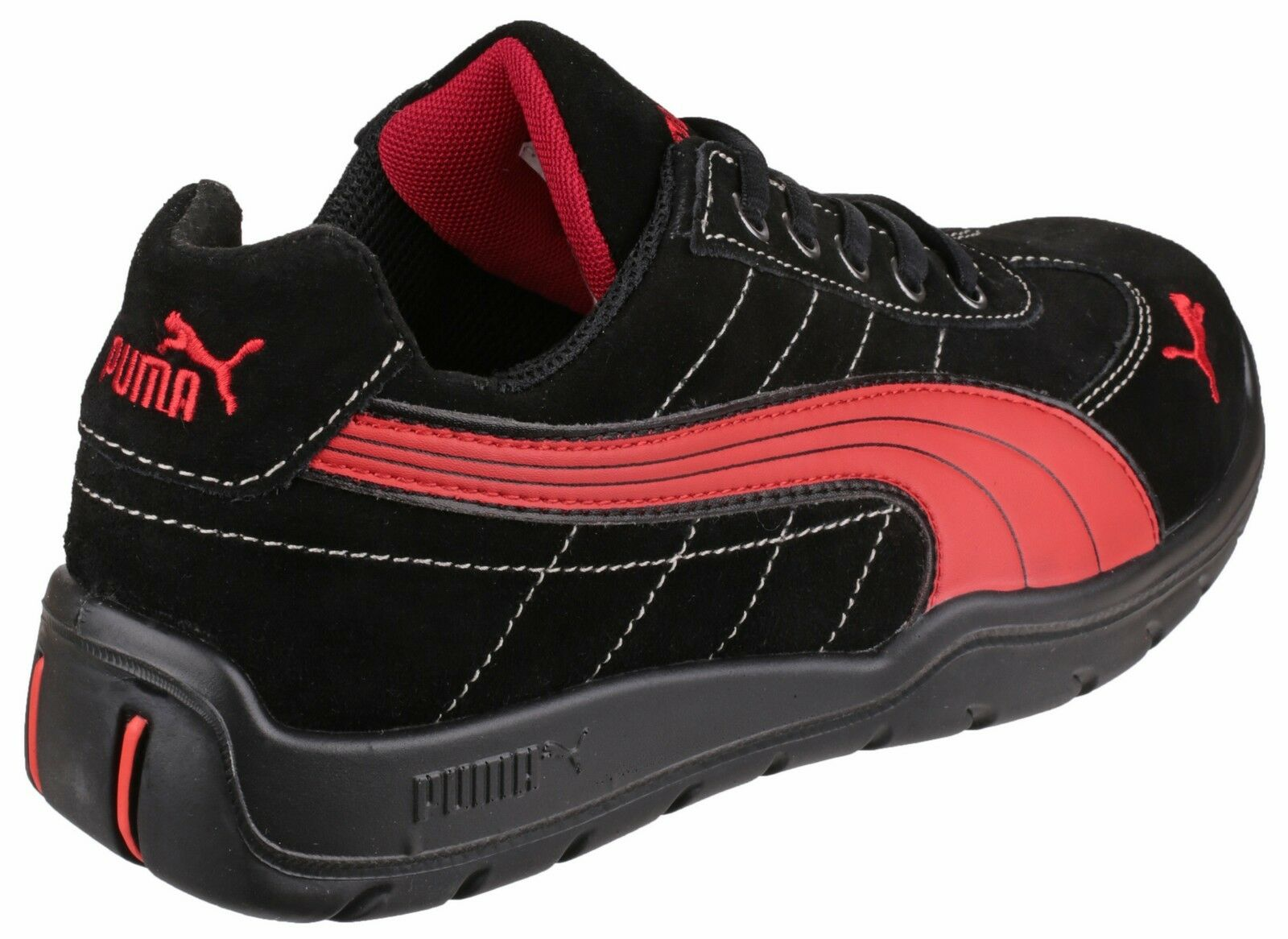 Puma Silverstone Industrial Trainers  Uomo S1 Safety Toe Cap Trainers Industrial Composite Toecap be0125