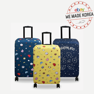 BT21 Character Travel Luggage Cover 24inch & 28inch 3colors Authentic K-POP MD