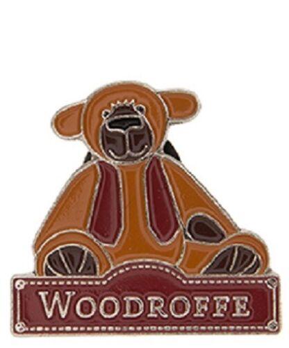 Charlie Bears Pin Badges Captain Alice/'s Bear Shop Bears New Cobby Etc