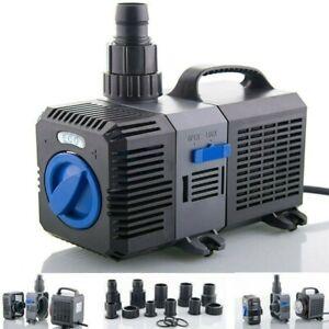3000l/h-12000l/h Étang Pompe de bassin filtre filtration cours d'eau Aquariophil