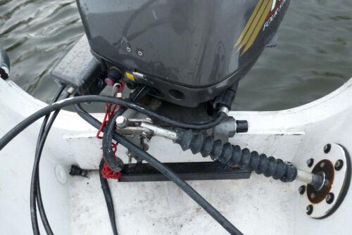 Splashwell Transom Boat Outboard Steering Rubber Protector Teleflex Ultraflex