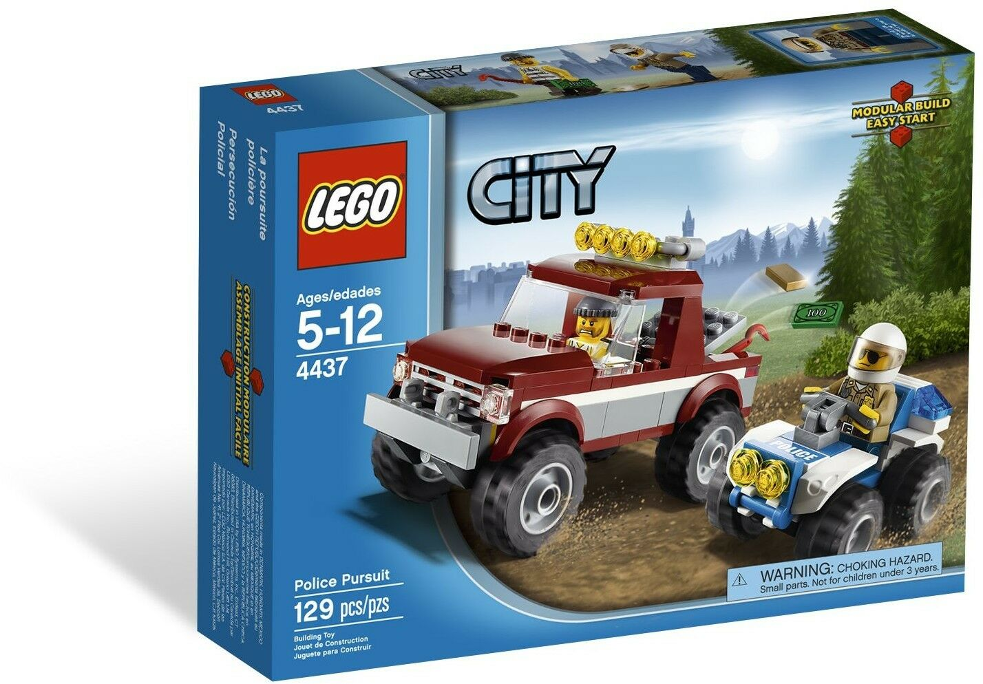 LEGO City Police Pursuit ()(Retired 2012)(Very Rare)(NEW)