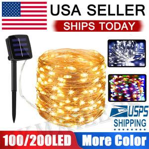 100-200-LED-Solar-Power-String-Fairy-Lights-Garden-Outdoor-Party-Christmas-Lamp