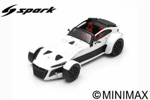 Model Car Scale 1:18 Spark Model Donkervoort D8 GTO-40 vehicles diecast