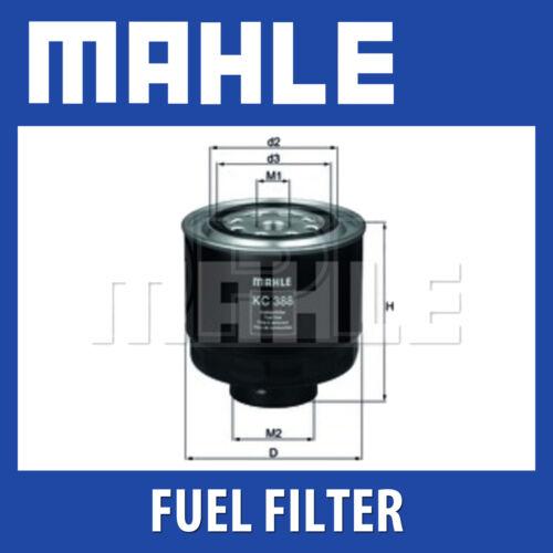 Mahle Fuel Filter KC388D Genuine Part Fits Mitsubishi L200