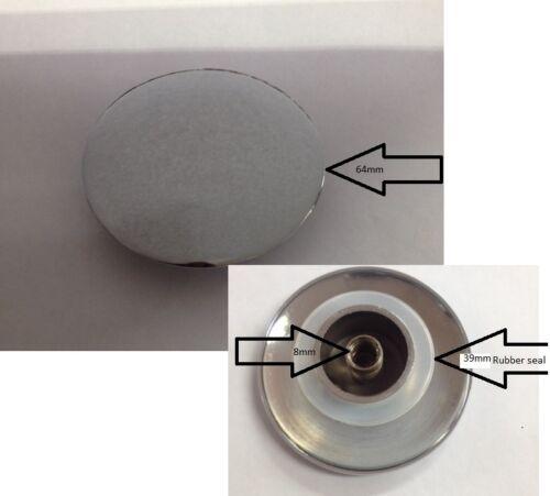 Basin Waste Easy Pop Up Click Clack 64mm Plug Chrome