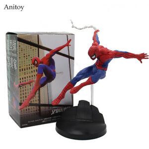 Spiderman-Serie-Spiderman-PVC-Action-Figur-Sammlerstueck-Modell-Spielzeug-15cm-2018