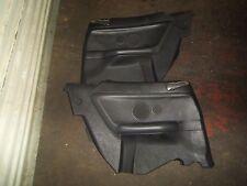 BMW e36 convertible black rear interior panels pair 94-99 318 323 325 328 M3