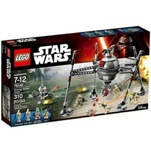 NEW LEGO 75142 Star Wars Homing Spider Droid