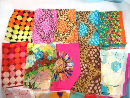 US SELLER-lot of 25 bulk lot Wholesale Fashion Scarves chiffon scarf wrap shawl