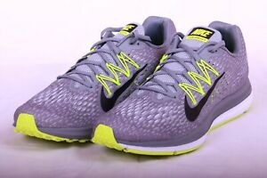 40011426a53 Nike Men s Zoom Winflo 5 Running Shoes Cool Grey Black-Volt AA7406 ...