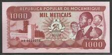 Mozambique P-132 1000 Meticais 1983 Unc