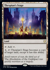 Thespian-039-s-Stage-x4-Magic-the-Gathering-4x-Commander-2019-mtg-card-lot