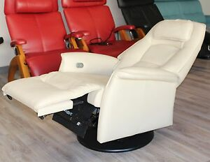 Image Is Loading Fjords Stockholm Swing Relaxer Electric Recliner Chair