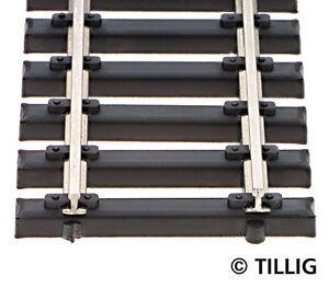Tillig-85136-NEW-BOX-OF-10-ELITE-STEEL-SLEEPERED-FLEXI-TRACK-HO-470MM-LONG