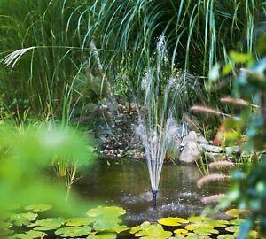 20 W Solaire étang pompe 1350l//h jardin étang étang Pompe Fontaine RUISSEAU NEUF