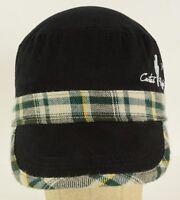 Women's Cactus Ropes Roping Lasso Green Plaid Black Hat Cap Adjustable