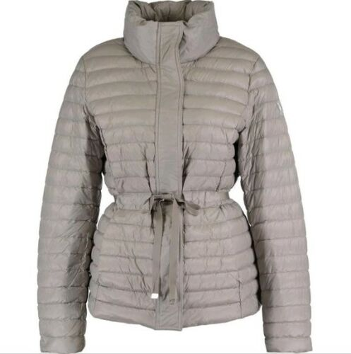 Hooded Xs Padded Size Dkny Jacket Grey O6R0q0