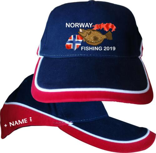 Norwegen Angeln Angler Hut Urlaub Kappe Basecap Mütze Angelurlaub Angelreisen 22