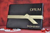 Yves Saint Laurent Opium Set Edt 50ml, Vintage, Very Rare, In Box
