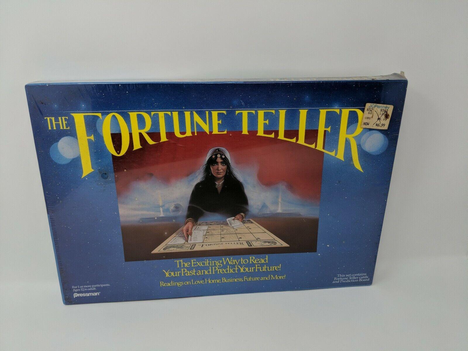 1989 Pressuomo The Fortune Teller Occult Ouija tavola gioco  nuovo Sealed VTG Horror  servizio onesto