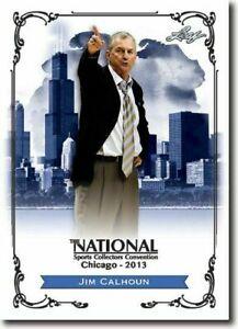 JIM-CALHOUN-2013-LEAF-NATIONAL-EXCLUSIVE-COLLECTORS-PROMO-CARD