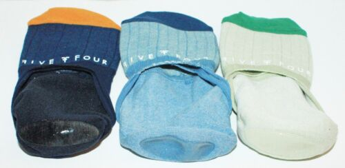 LIGHT BLUE ONE SET DARK FIVE FOUR MEN NO SHOW FASHION 3 SOCKS GREEN