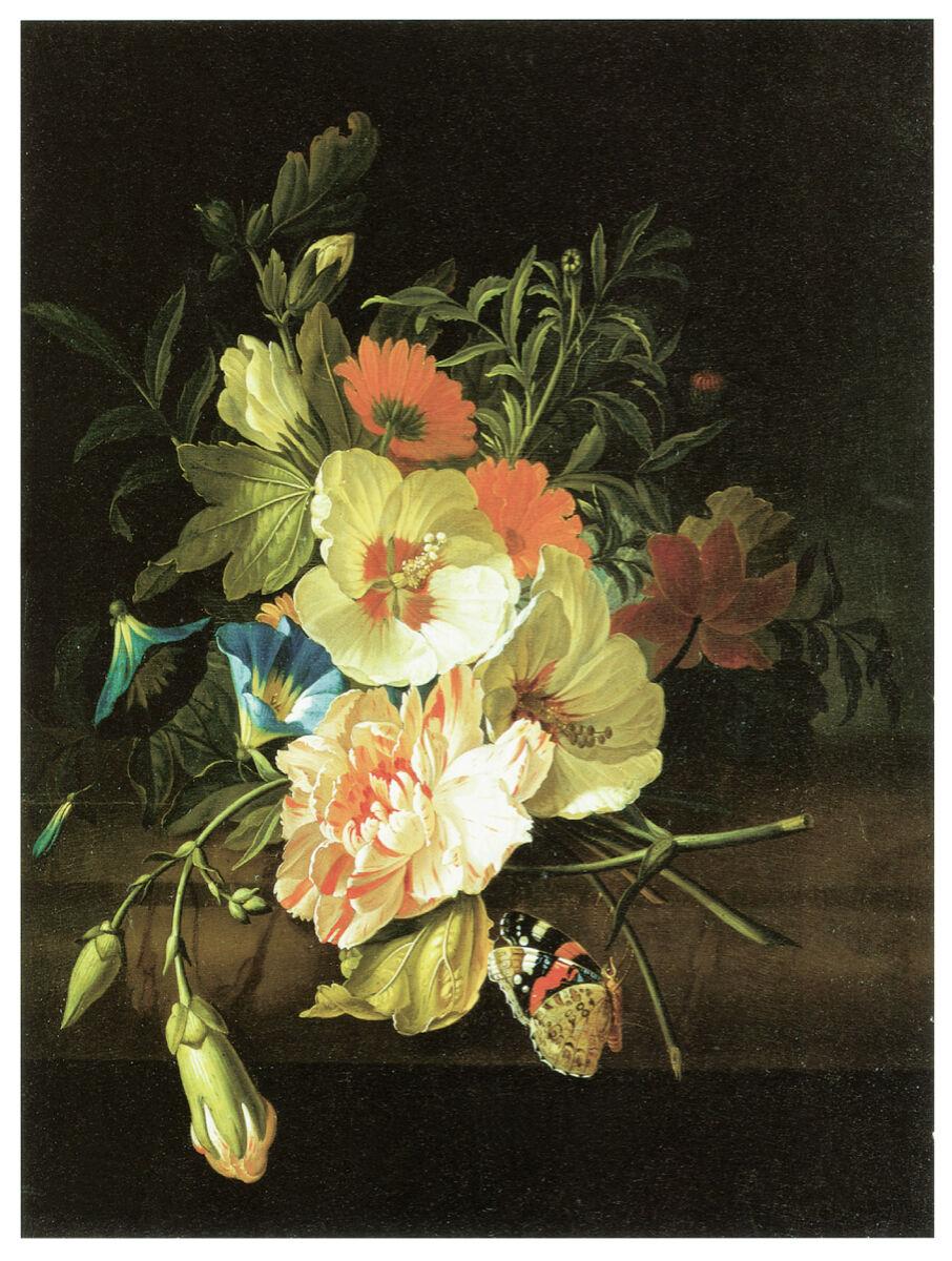 16x20 Decoration CANVAS.Interior room design art.Flower vase painting.6640