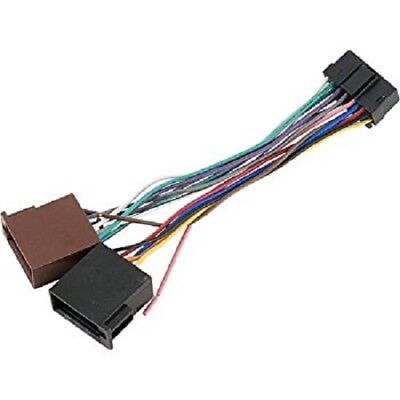 JVC REPLACEMENT HEADUNIT POWER LEAD 16 PIN LOOM CD STEREO RADIOKD KW M 705