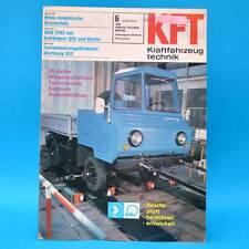 DDR KfT Kraftfahrzeugtechnik 6/1976 Shiguli-Kombi IFA W 50 QEK Junior Bastei B