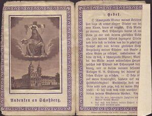 Maria-Schosberg-Eslovaquia-Hungria-Bohemia-Wallfahrt-Recuerdo-Estampa-B-5031