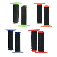 100% Dirt Bike Motorcycles Soft Rubber 7/8 22mm Hand Grips Hand Pro Grips