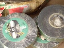 Original WW2 Demolition friction tape, old cache lot, Gold Seal brand