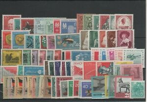 Germany-GDR-vintage-yearset-Yearset-1959-Mint-MNH-complete-Complete