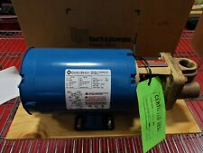 1x Burks Pump Series 37ct7m Ab Sp Hp 34 Ph 3 208 230480 Nsn 6105013101434