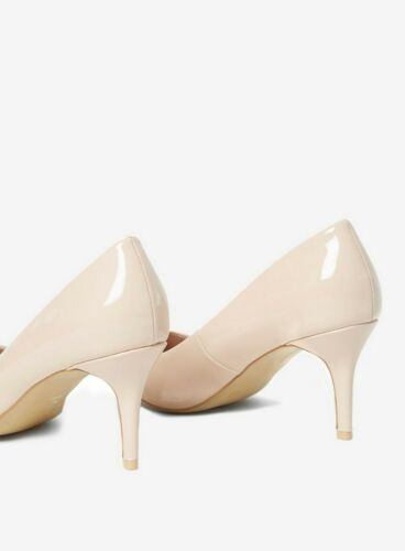 Ex Dorothy Perkins Nude Court Shoes Size 3-9