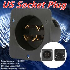 4 Holes Us Socket Plug Ul Listed Industrial Generator Plug 125 250v 30a 5kw