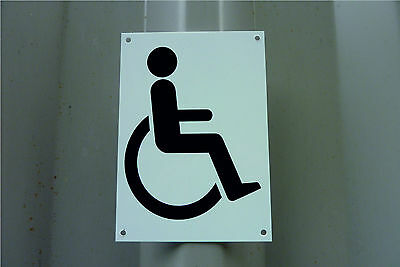 Disabled Toilet Sign Or Sticker Wheelchair Access/Shop/Leisure Centre/Cafe