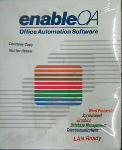 Enable-OA-Office-Automation-Software-1989-5-1-4-034-disks-Dos-amp-OS-2-BRAND-NEW