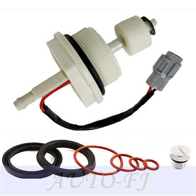 Fit Duramax  Water In Fuel Float Sensor/&Housing Seal Rebuild Kit/&Bleeder Screw