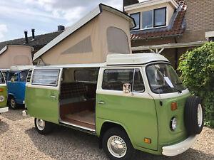 d884f54289 VW T2 Westfalia Heavy Duty Roof Canvas Rear Hinging Style 1974-1979 ...