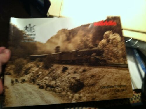 #A4 OLD MARKLIN TRAIN CATALOG MARKLIN COMPLETE PROGRAM 1995 96