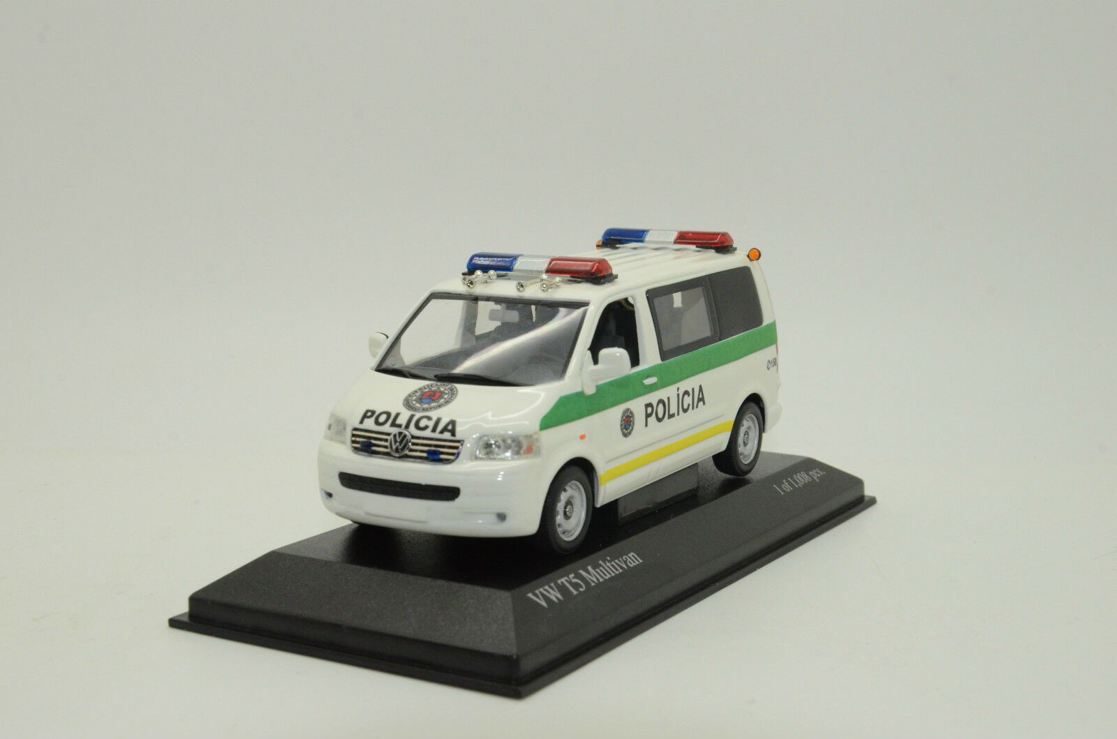 Rara VW T5 Multivan Eslovaquia Policial Policia Hecho a Medida 1 43