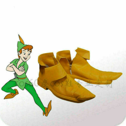 Peter Pan Classic Animated Film Movie Halloween Party Cosplay Shoes