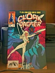 Cloak-and-Dagger-1-LOT-OF-2-Oct-1983-Marvel-NM-M-NEVER-SOLD-OR-READ-Great