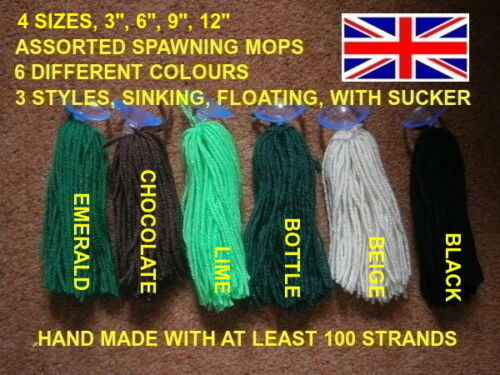 killifish etc live bearers Assorted Spawning mops X 1 for egg layers